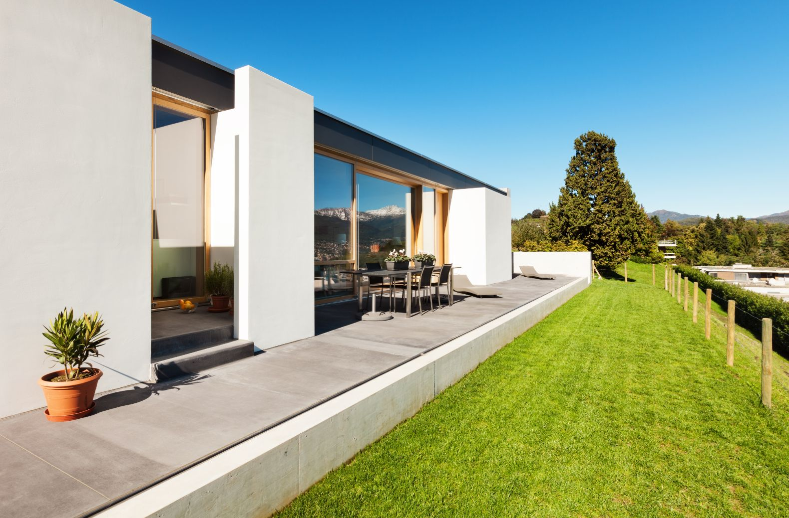 Outdoor deck and turf laying in Ballarat Victoria
